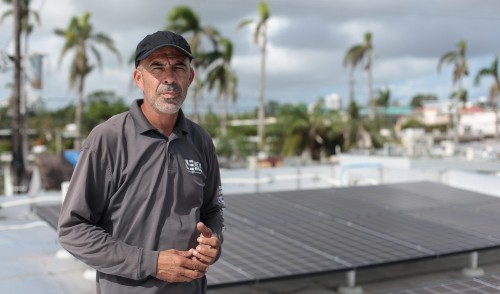 Hurricanes blew away Puerto Rico's power grid. Now solar power is rising to fill the void.