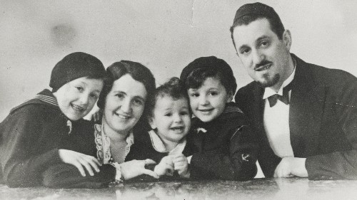 Leo Goldberger and his family came from Czechoslovakia, but they moved to Denmark before World War II. That decision was the reason they escaped the Holocaust.