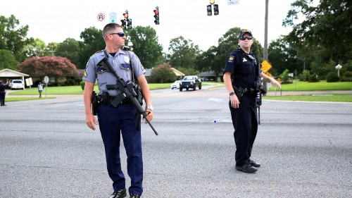 Three law enforcement officers killed in Baton Rouge shooting
