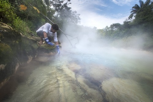 What a young scientist found when he started researching a famous 'boiling river' in Peru