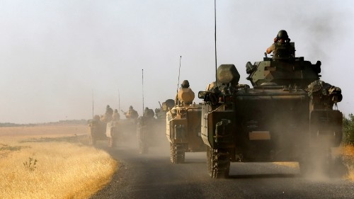 US allies are fighting each other in northern Syria. Here's why.