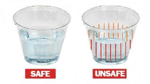 New cups alert drinkers to presence of date rape drugs