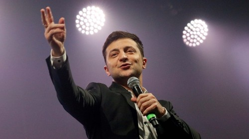 This Ukrainian presidential candidate is challenging language divisions with a message of unity