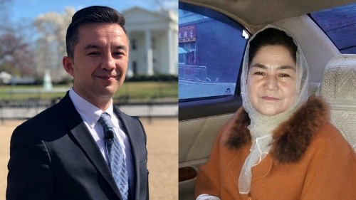 House bill gives Uighurs 'at least some hope', Uighur activist says