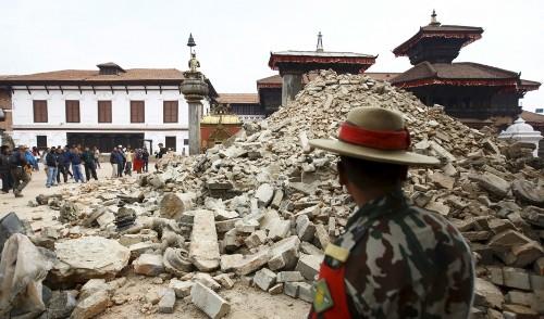 Earthquakes create as well as destroy