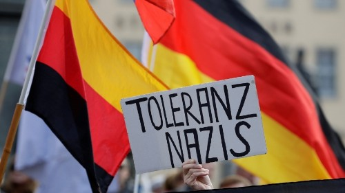 Is there a 'Nazi emergency' in the German city of Dresden?