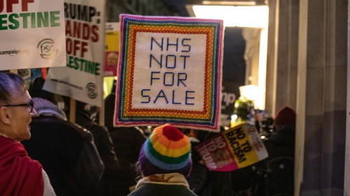 The NHS is 'not for sale.' But is it a victim of Brexit woes?