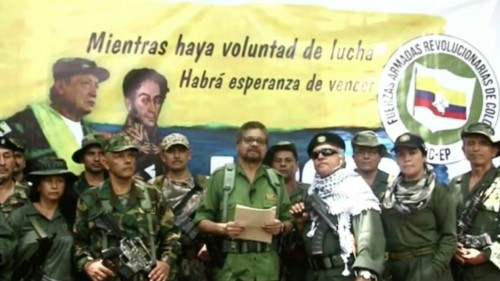 A new armed offensive in Colombia is announced by former FARC leaders