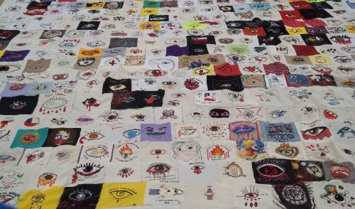 In Chile, women use traditional embroidery to urge political change