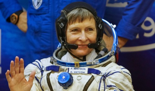 American astronaut Peggy Whitson just broke a world record