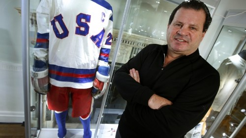 Mike Eruzione remembers when US hockey knocked off the Soviets in the 'Miracle on Ice'