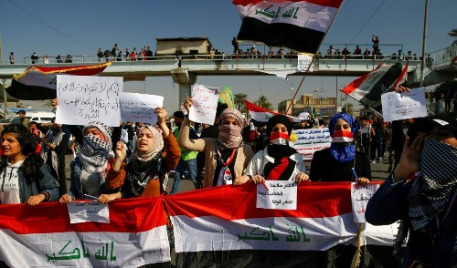 Analysis: Iraqi protesters will likely push forward despite violence