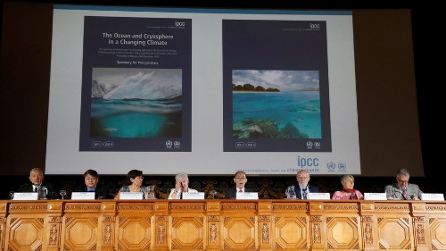 Cut emissions to avert catastrophic sea-level rise: UN climate report