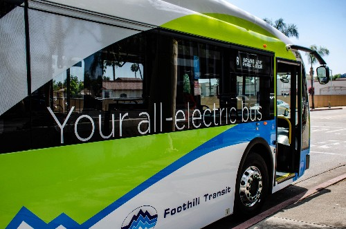 China dominates the electric bus market, but the US is getting on board