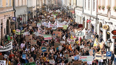 Global protests for action on climate change