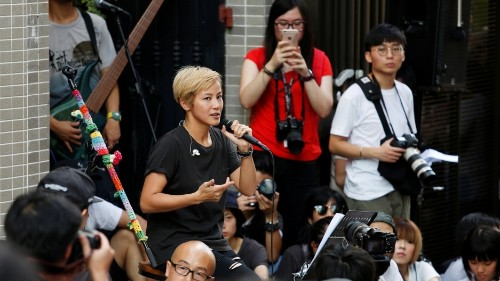 Hong Kong pop star fights for 'our autonomy' as protests against Beijing continue