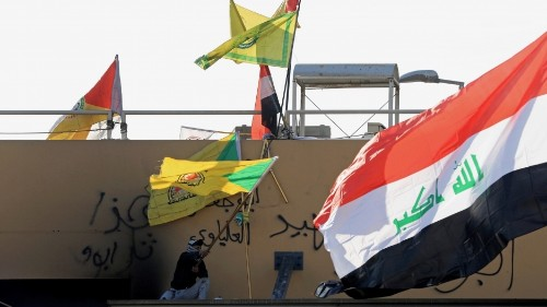 Kataib Hezbollah attacked the US Embassy in Baghdad. Who are they?