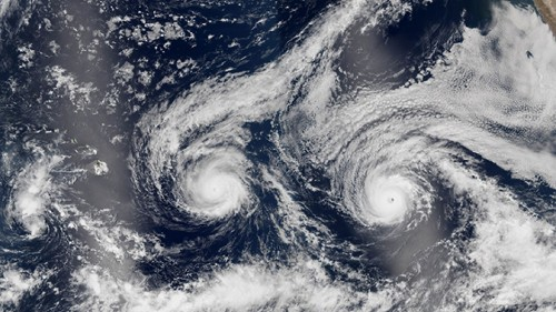 Climate disruption is fueling stronger storms