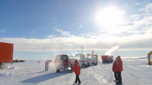 Researchers discover microbial life deep beneath Antarctic ice