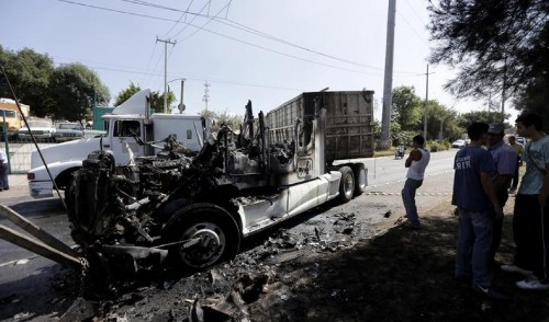 A heavily armed 'paramilitary' cartel unleashes violence in Mexico's second-biggest city