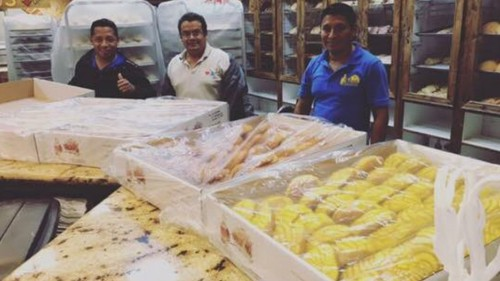Workers trapped by Harvey at a Mexican bakery feed a hungry Houston