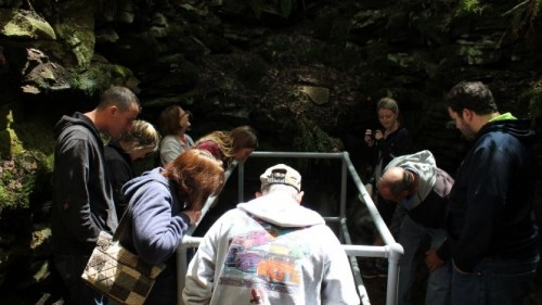 A geological mystery draws tourists to the Appalachians