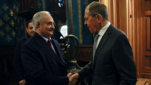 Libyan rivals, cajoled by Putin and Erdoğan, hold indirect Moscow peace talks