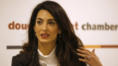 Amal Clooney slammed by Azerbaijan for taking on human rights case