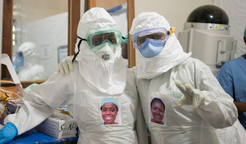 For Ebola patients, a way to see the faces of those helping