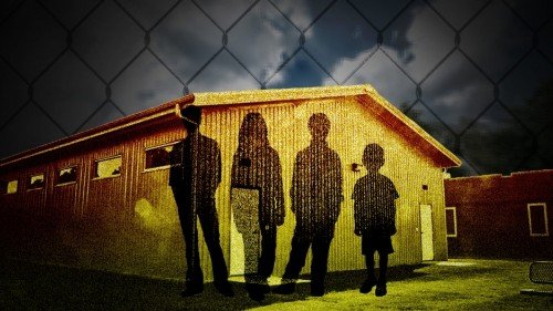 US government uses several clandestine shelters to detain immigrant children