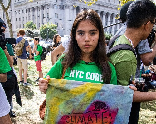 Young climate activists want a seat at the table 'before it's too late'