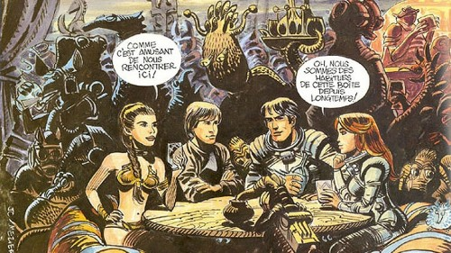 The French comic that may have influenced 'Star Wars'