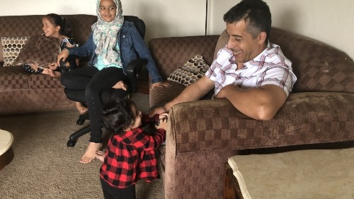 Settled but unsettled: 4 years on, a Syrian refugee family still torn by US policy
