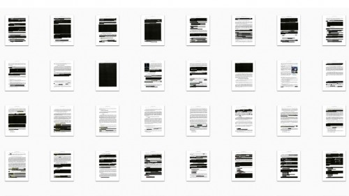 How to make music out of the Mueller report redactions