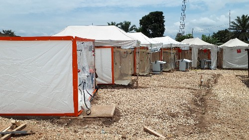 In DR Congo, health workers pioneer new Ebola isolation 'CUBE'