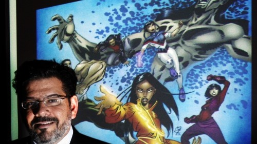 A Saudi fatwa shuns the first comic book to feature Muslim superheroes