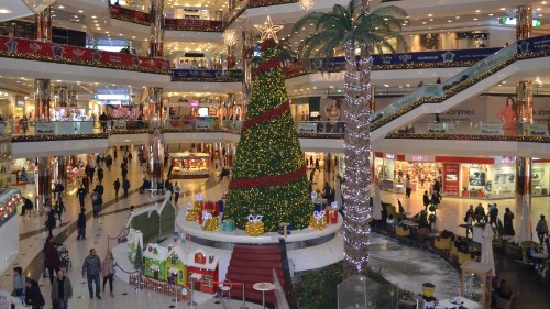 Wondering why there's Christmas in a Muslim country? It's just business, as usual