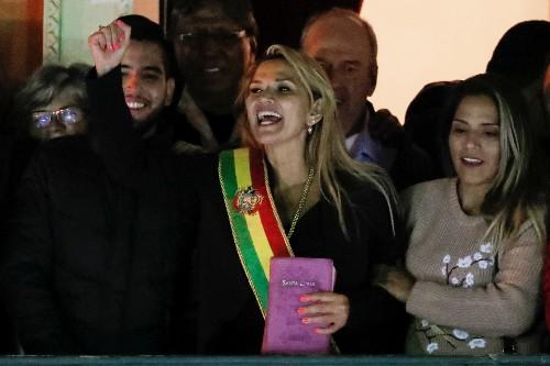 Bolivia sees backlash against conservative interim leader