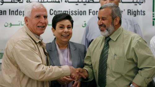 Veteran Palestinian negotiator Hanan Ashrawi is denied a visa to the US
