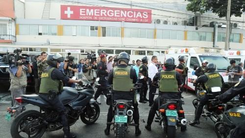Peru's ex-president García shoots himself as police try to arrest him