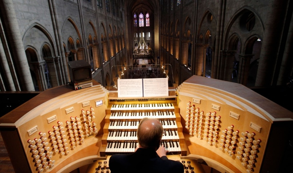 Notre Dame Cathedral's organ getting 4-year-long cleaning