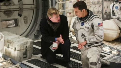 Interstellar explores both the cosmic scale of space and the intimacy of family bonds