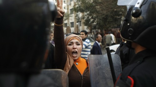The Egyptian regime is afraid because the revolution isn't over
