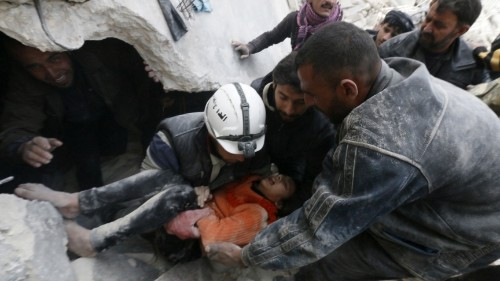 What are 'barrel bombs' and why is the Syrian military using them?