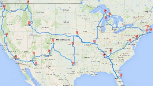 Are you ready for the ultimate geek road trip? 12 suggestions.