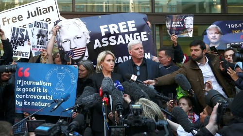 What does Assange's arrest mean for press freedom?