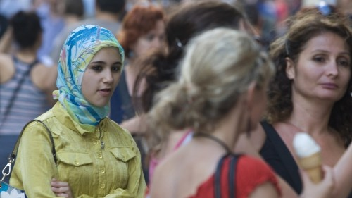 Some in Turkey feel less free now that women are free to wear headscarves