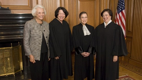 Justice Ginsburg offers insights on legal questions, women's role in law