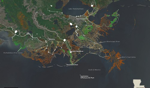 Louisiana's much-needed plan to save its wetlands is short almost $50 billion
