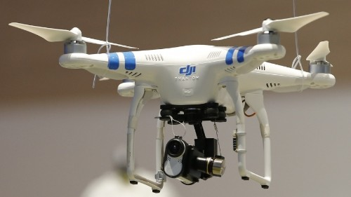 What's the difference between a drone and a toy? The pilot